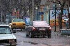اولین برف تهران از لنز دوربین علی کریمی!