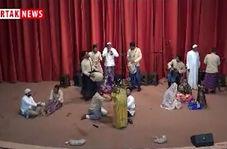 اختصاصی/ اجرای زیبای گروه مینابی ها در جشنواره آیین های نوروزی