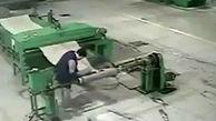 اتفاق مرگبار در یک کارخانه