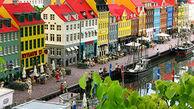 شهری کامل در مقیاسی بسیار کوچک در دانمارک