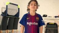 ویدئوی آرات اعجوبه ایرانی که روی صفحه بارسلونا منتشر شد