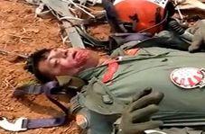 لحظه به اسارت گرفته شدن یک خلبان هندی در پاکستان