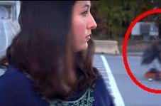 حادثه غیرمنتظره سر ضبط برنامه زنده در خیابان