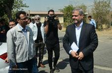بازدید دادستان تهران از انبار خودروهای دپو شده در بزرگراه فتح