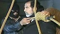لحظاتی پس از اعدام صدام
