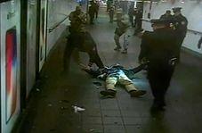 لحظه انفجار یک بمب گذار انتحاری در متروی نیویورک