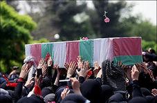 تشییع پیکر 9 شهید گمنام در اهواز