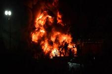 """سقوط بالگرد متعلق به مالک تیم لسترسیتی در نزدیکی استادیوم """"کینگ پاور"""" +فیلم"""