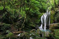 """آبشار زیبای """"پشمکی"""" در شهرستان رامیان"""