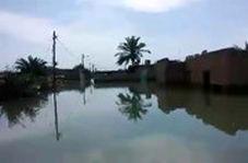 در محاصره آب؛ روستایی که فقط با قایق میتوان رفت!