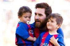 خوشحالی پسر مسی از ناکامی بارسلونا
