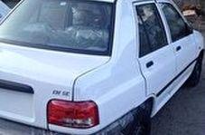 سرقت ۳۰ ثانیهای پراید در تهران