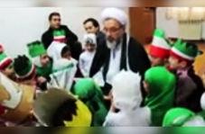 قصه خوانی دلنشین امام جمعه بیلهسوار برای کودکان درباره زندگی حضرت زهرا (س)