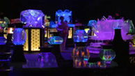 آکواریوم هنری توکیو با ۱۰ هزار ماهی