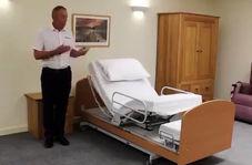 کمک عجیب یک تخت مدرن به حرکت معلولان!