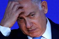 سوتی شرم آور نتانیاهو هنگام اعطای درجه به رئیس ستاد ارتش