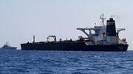 نخستین تصاویر کشتی توقیف شده حامل سوخت قاچاق توسط سپاه در ابوموسی