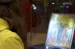 تابلوی نقاشی کوچکی که پیرزن ۹۰ ساله را میلیونر کرد! + فیلم