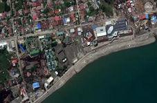 تصاویر ماهوارهای از خرابیهای سونامی و زلزله در اندونزی!