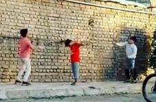 انتشار فیلم بازی والیبال کودکان قائناتی در اینستاگرام فدراسیون جهانی والیبال