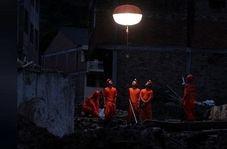 ویرانههای به جامانده از طوفان لکیما + فیلم
