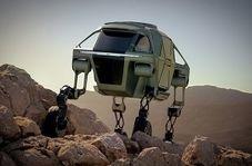 خودرویی با قابلیت های عجیب که میتواند راه برود