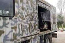 رزمایش مقابله با جنگ بیولوژیک سپاه در اهواز