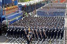 رژه دیدنی یگانهای ارتش در حضور فرمانده کل قوا!