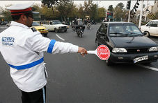 ازخودگذشتگی سرباز وظیفه راهنمایی و رانندگی برای اعمال قانون راننده متخلف!