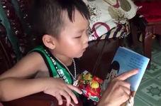 کودکی که غیر منتظره به زبان انگلیسی صحبت می کند!