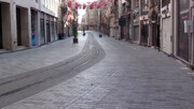 خیابان معروف و شلوغ استانبول! به این میگن قرنطینه واقعی