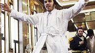 رقص عجیب یک خاخام یهودی روی سقف خودروی شهروند عرب