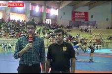حسن مدبر: هیات کشتی استان کرمانشاه واقعا پر تلاش است