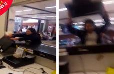اقدام عجیب مسافر عصبانی در فرودگاه!