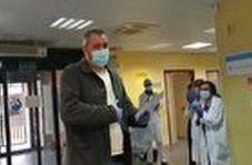 غافلگیری راننده تاکسی توسط پزشکان و پرستاران