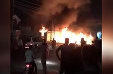 حمله دیشب افراد ناشناس به مقر کتائب حزب الله در بصره