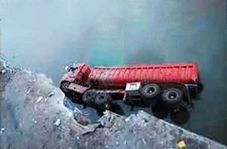به بار آمدن فاجعه پس از بریدن ترمز کامیون هنگام دور زدن!