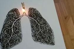 پیام جالب یک هنرمند برای درک خطر سیگار کشیدن