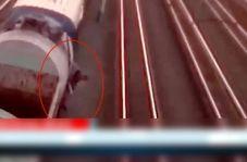 بازی با مرگ نوجوان خام حین گرفتن سلفی روی سقف قطار!