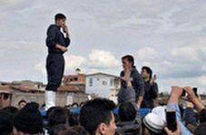 سردار آزمون برای کمک به سیلزدگان گلستان رخت جهادی به تن کرد