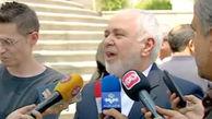 ظریف در حاشیه نشست هیئت دولت: نامه من به رهبر انقلاب در جهت حفظ منافع ملی بود