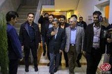شوخی خنده دار سعید آقاخانی با تکیه کلام معروف محمود احمدی نژاد!