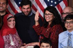 سوگند طالب به قرآن در کنگره آمریکا