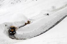 بارش یک متری برف در کردستان