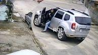 سارقی که برای سرقت از صاحب خودرو کمک خواست