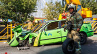 حادثه اتوبان بسیج به روایت پسر راننده تاکسی که زیر جرثقیل ماند
