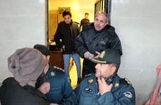 کتککاری جنجالی در مسابقه لیگ دسته یک و ورود یگان ویژه