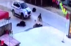 تصادف با پنج عابر پیاده به دلیل رانندگی در حالت غیرطبیعی