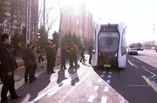 راه اندازی سامانه حمل و نقل ریلی سریع در چین