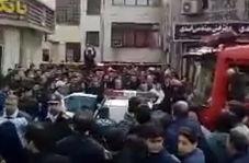 لحظه دستگیری سارق مسلح در رشت